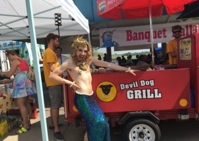 Merman at the Unicorn Festival